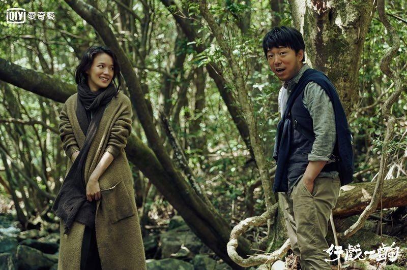 舒淇(左)演出黃渤執導的戲直呼壓力大。圖/愛奇藝台灣站提供