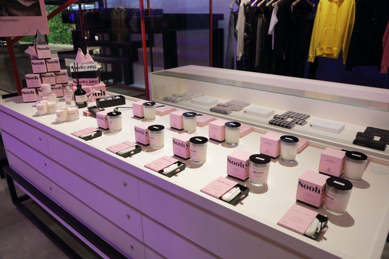 Fred Segal台北店獨家進駐韓國香氛品牌SOOHYANG。圖/Fred S...