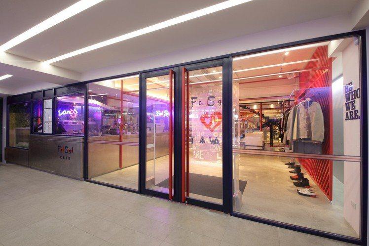Fred Segal台灣台北店於忠孝東路開幕。圖/Fred Segal提供
