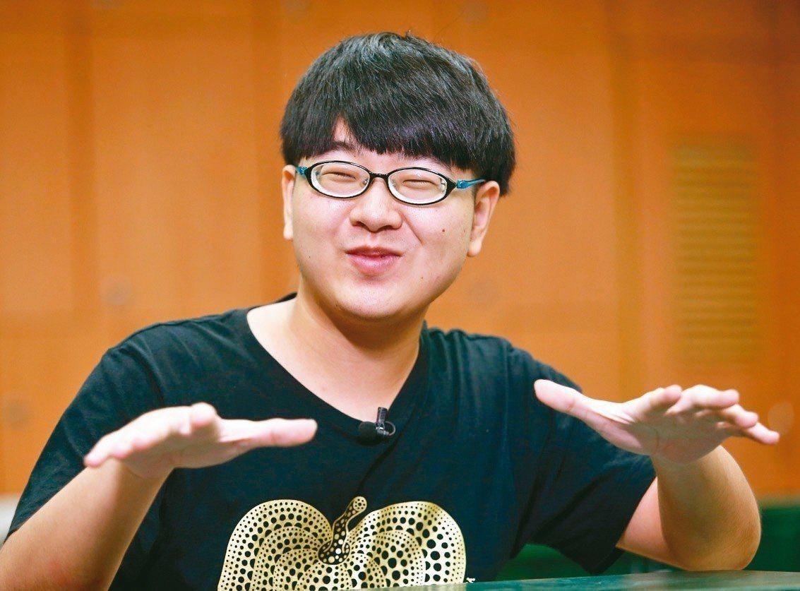 總統教育獎得主陳彥豪。 記者杜建重/攝影