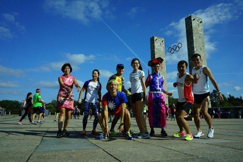 柏林奧林匹克體育館現場 圖片來源:筆者自行拍攝