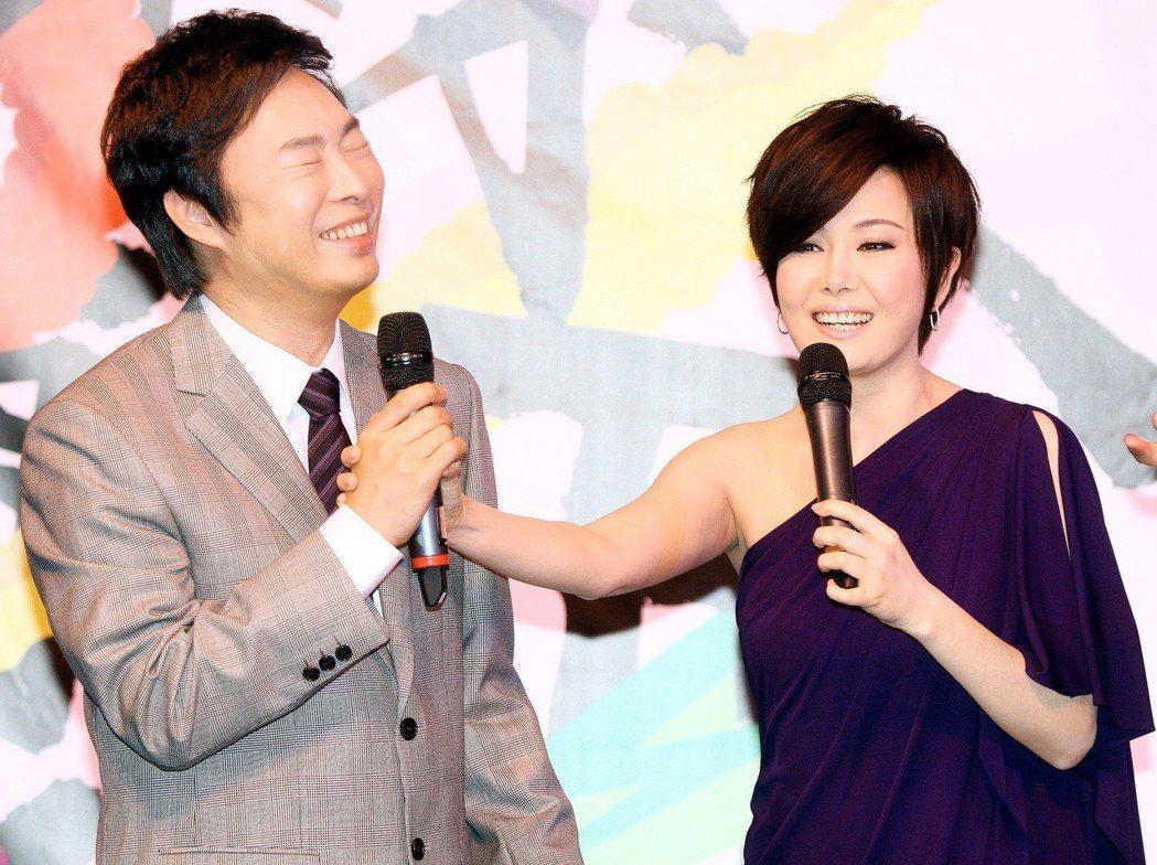 江蕙(右)與費玉清。圖/報系資料照