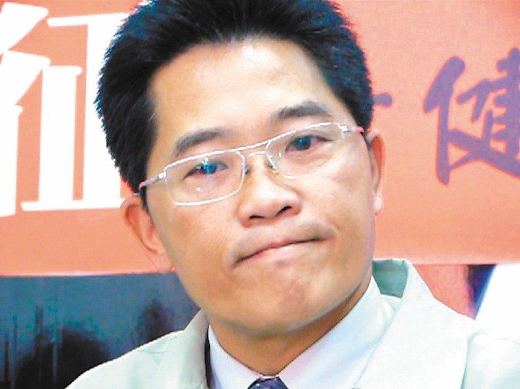 2009年9月,時任立委的黃健庭誤投,讓國民黨丟掉內政委員會主控權。 圖/聯合報...