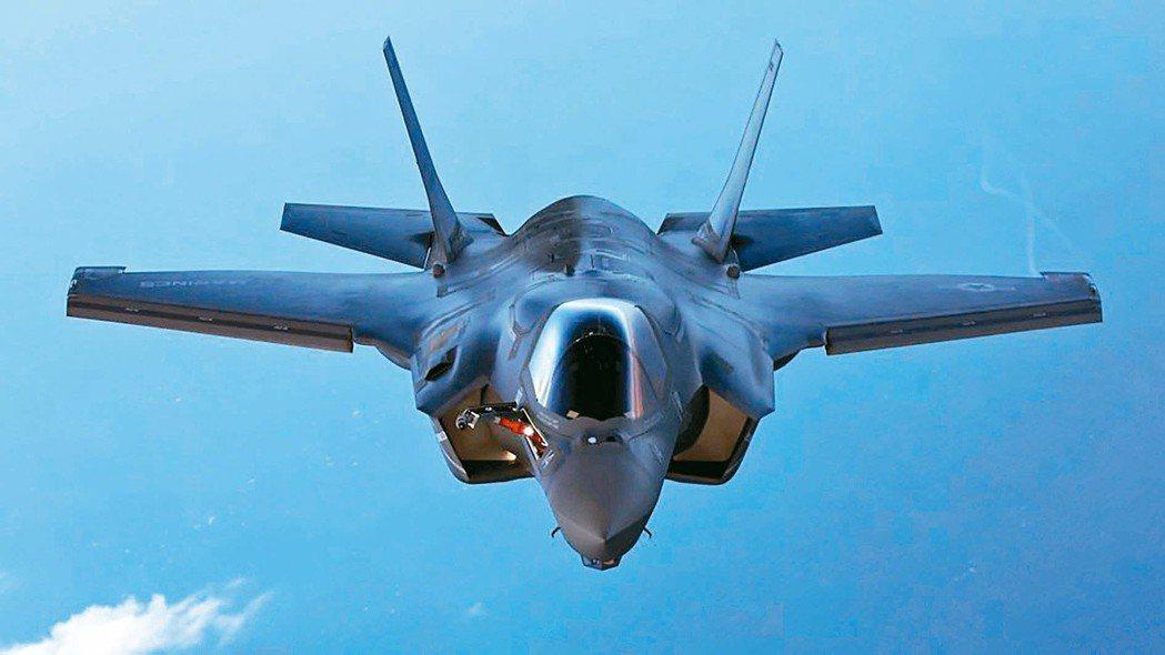 F-35戰機也是我軍方欲採購的軍備目標。 (路透)