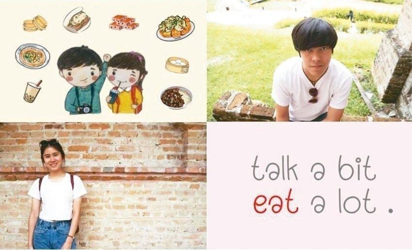 「Talk a bit Eat a lot」團隊宣傳照。 擷取自團隊臉書