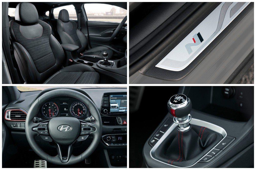全新Hyundai i30 Fastback N 內裝。 摘自Hyundai