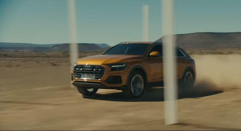 340匹渦輪增壓配上Quattro四輪驅動系統,足以讓Q8在沙漠橫行無阻。 摘自AudiMiddleEast