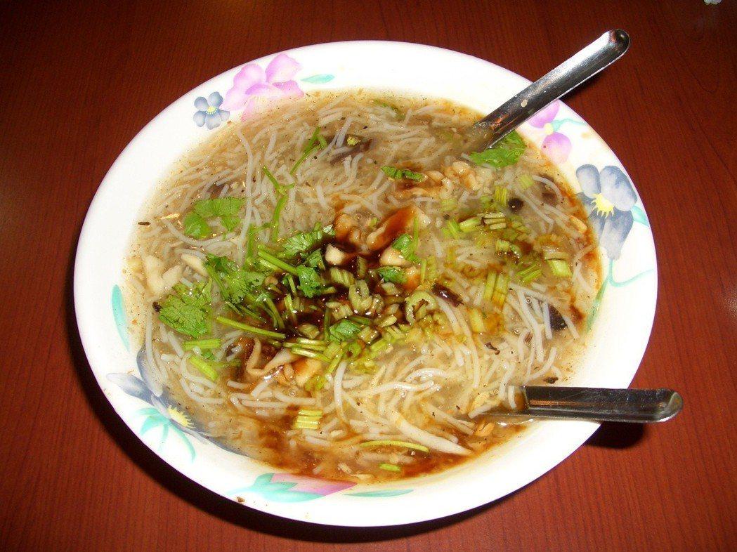 米粉羹。 圖片來源/聯合報系 記者錢震宇攝影