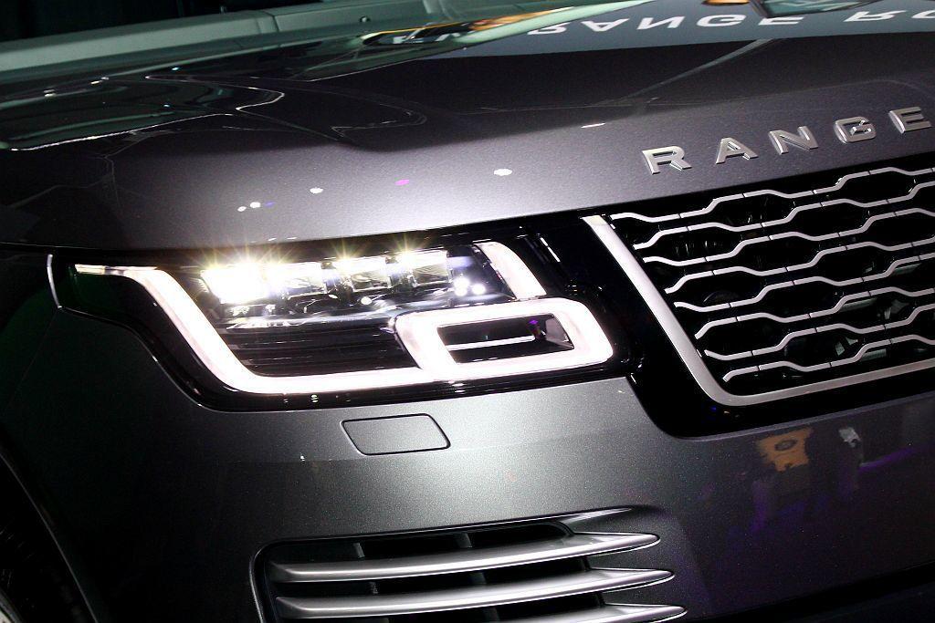 小改款Land Rover Range Rover全車系配備矩陣式LED或高解析...