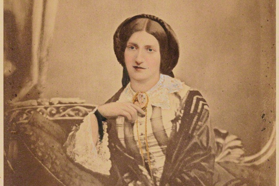 19世紀的英國「家事女神」伊莎貝拉.畢頓夫人(Isabella Beeton),...