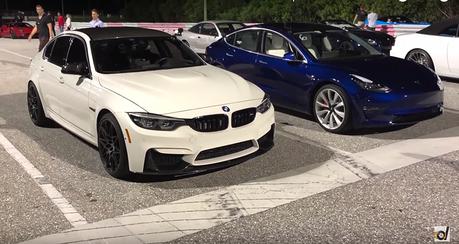 影/Tesla Model 3終於要與BMW M3拼輸贏了!