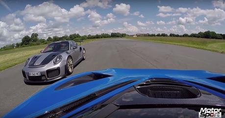影/Porsche 911 GT2 RS與McLaren 720S的戰爭