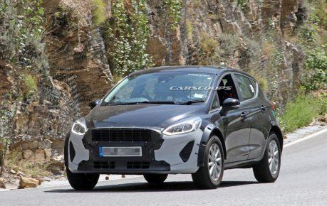Ford小型休旅偽裝測試捕獲 會是新一代Ecosport嗎?