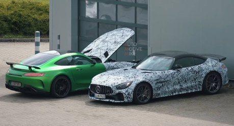 Mercedes-AMG GT Black Series紐伯林捕獲 這才是最強版本!