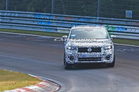 Volkswagen T-Roc R紐伯林再次狂奔 已幾近完成體