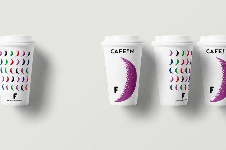 CAFE!N聯名藝術家Filip Pagowski亞洲限量星月杯組。圖/業者提供