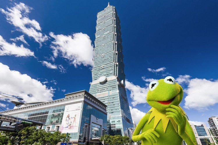 科米蛙造訪台北。圖/sandro提供