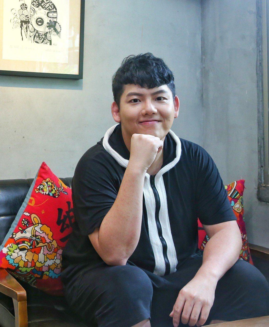 專訪「胖虎」陳睿纁。記者鄭清元/攝影