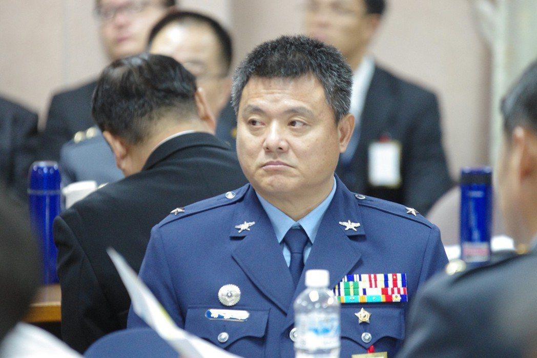 飛指部前指揮官謝嘉康。 圖/聯合報系資料照片