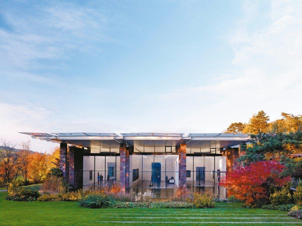 由義大利建築大腕倫佐.皮亞諾(Renzo Piano)所設計的貝耶樂基金會。Ph...