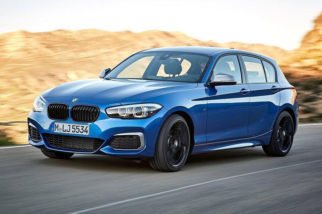 同級中唯一採後輪驅動的BMW M140i擁有340hp最大馬力設定,未來大改款後...