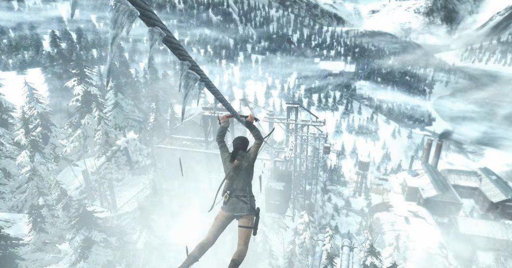 遊戲的舞台設定在西伯利亞的緣故,所以大部分時間都看到白靄靄的雪景居多,不然就是灰...
