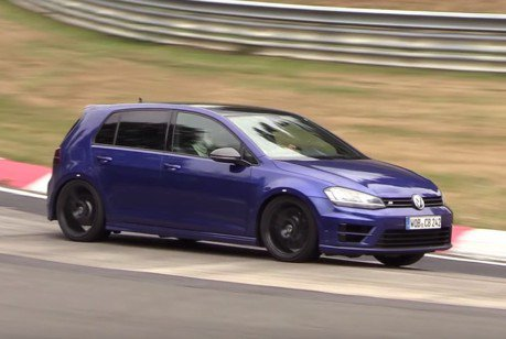 這輛VW Golf R好像比以往更兇 難道真的換心成功?