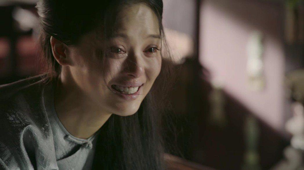 辛芷蕾飾演的「金玉妍」最終崩潰而亡。圖/截圖自愛奇藝台灣站