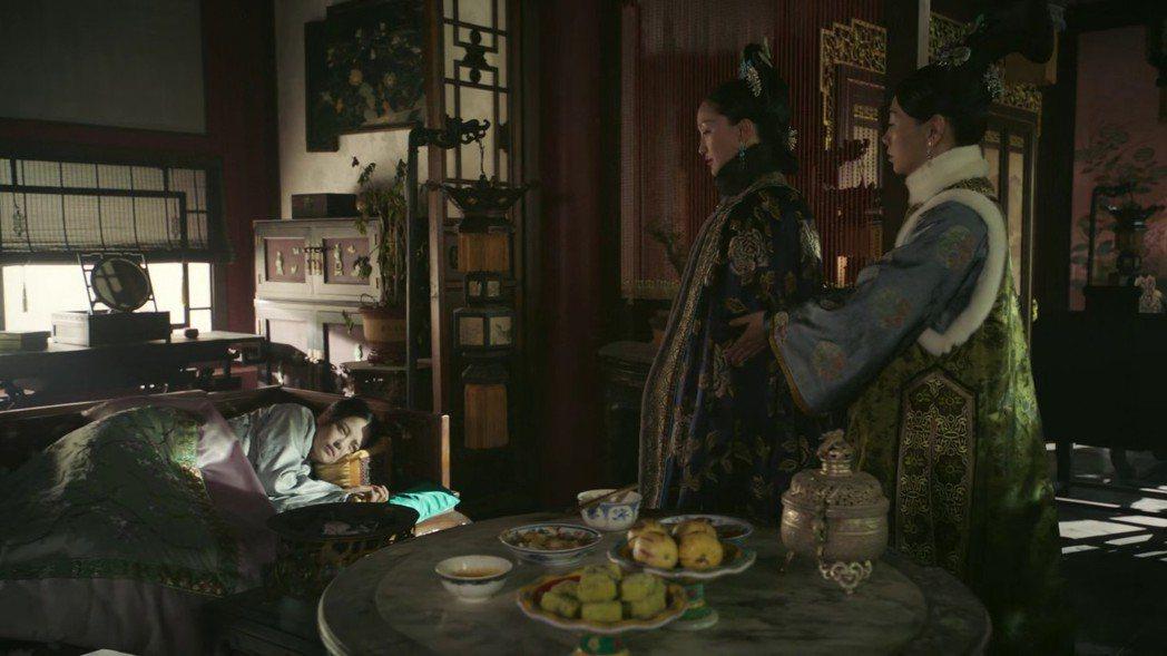 辛芷蕾(左)提到與周迅的對戲印象深刻。圖/截圖自愛奇藝台灣站