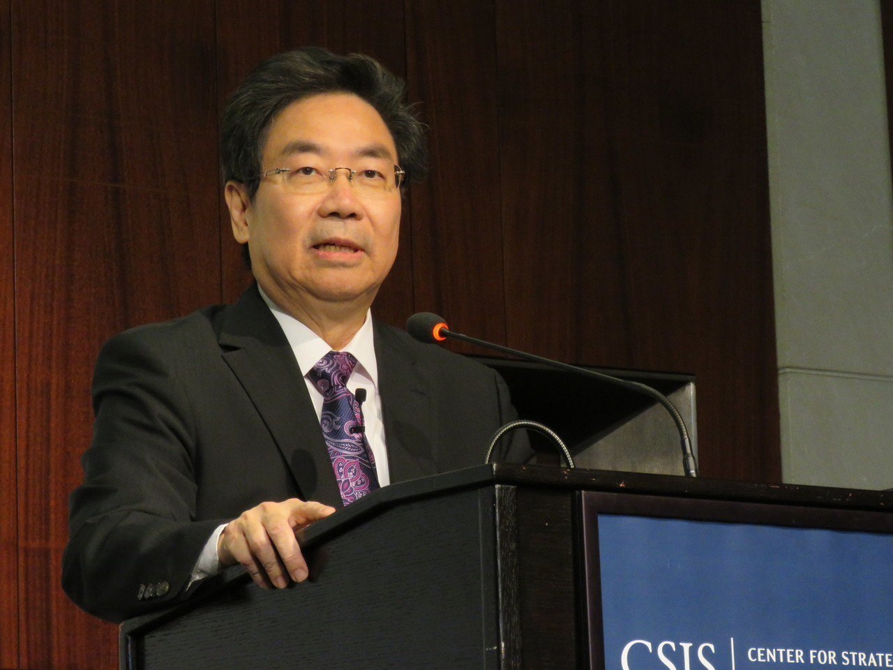 外貿協會副董事長莊碩漢。 記者張加/攝影