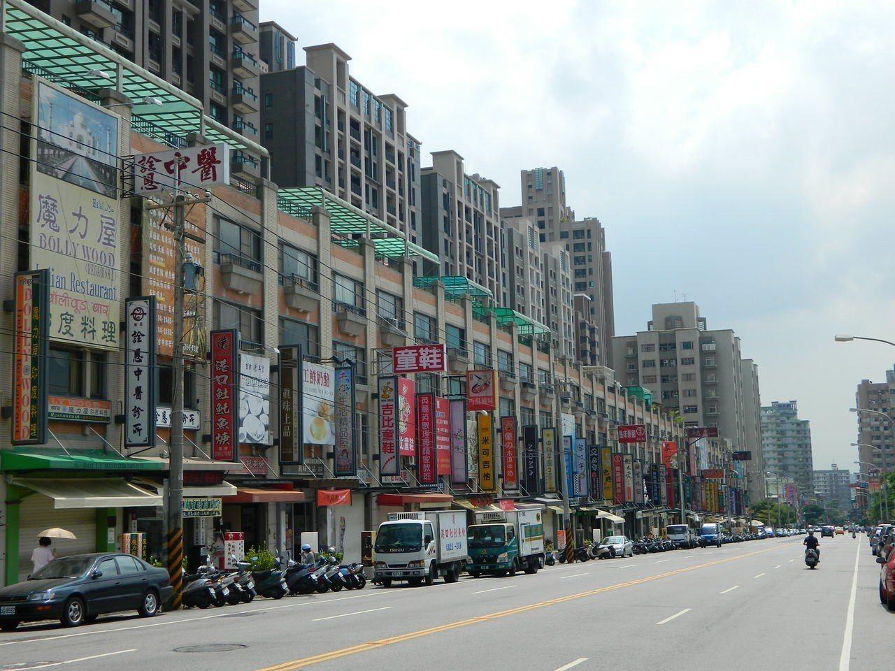 台中市西屯區街景 圖/台慶不動產提供