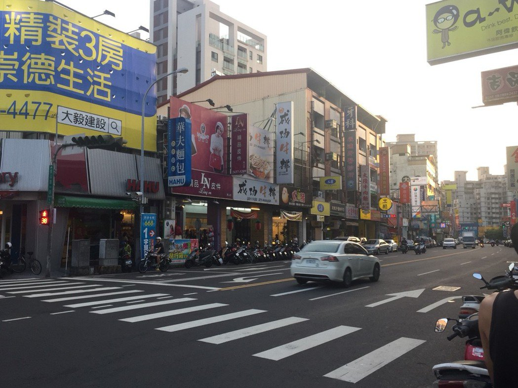 台中市北屯區街景   圖/台慶不動產提供