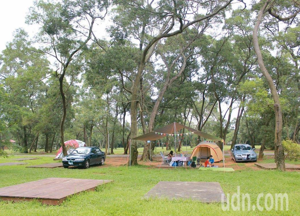 交通部觀光局今天公布第3波露營地名單。聯合報系資料照