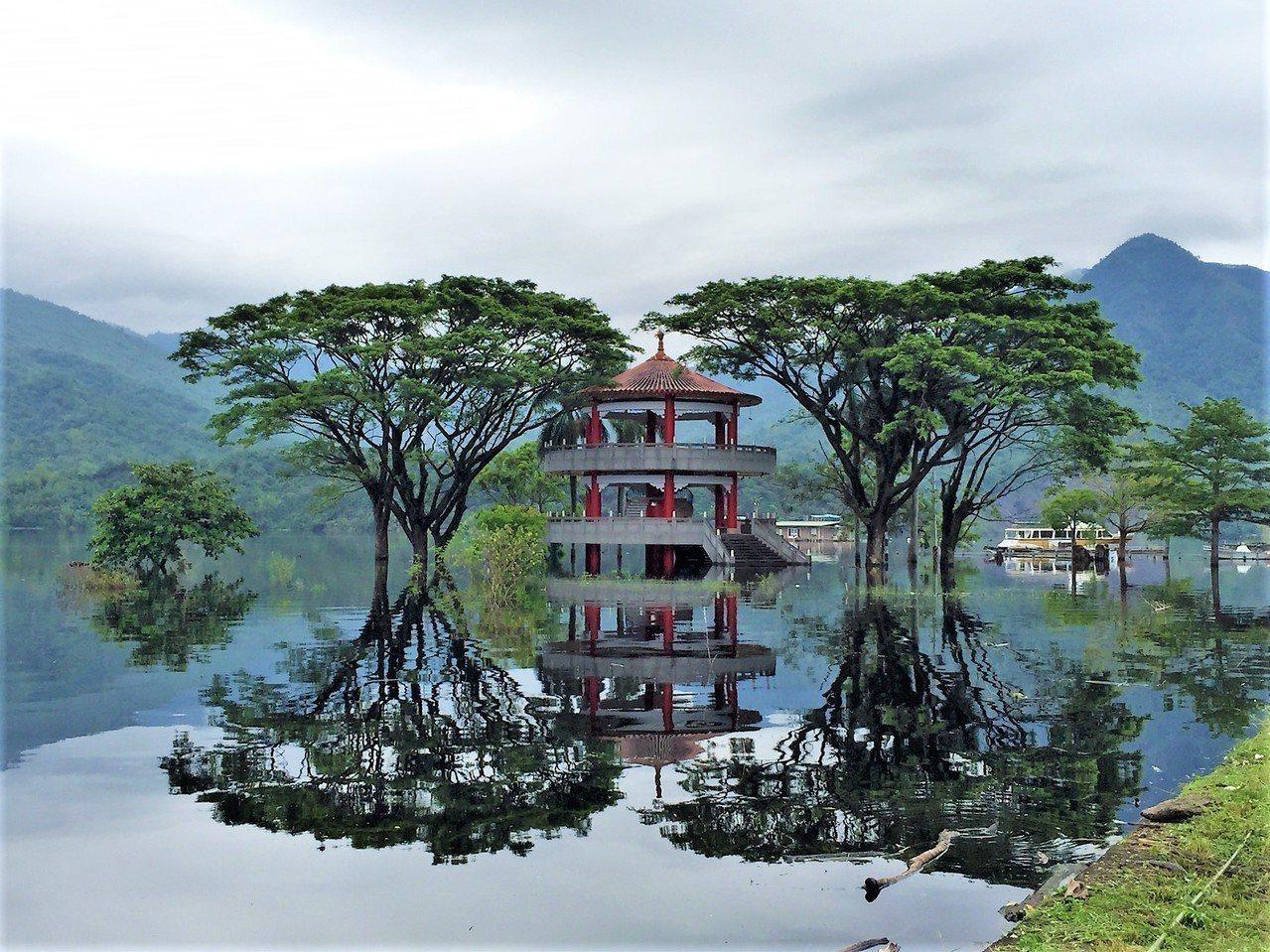 大埔曾文水庫。圖/嘉義縣文化觀光局提供