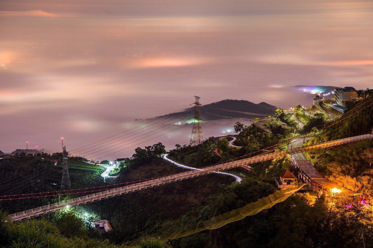 梅山太平雲梯。圖/嘉義縣文化觀光局提供
