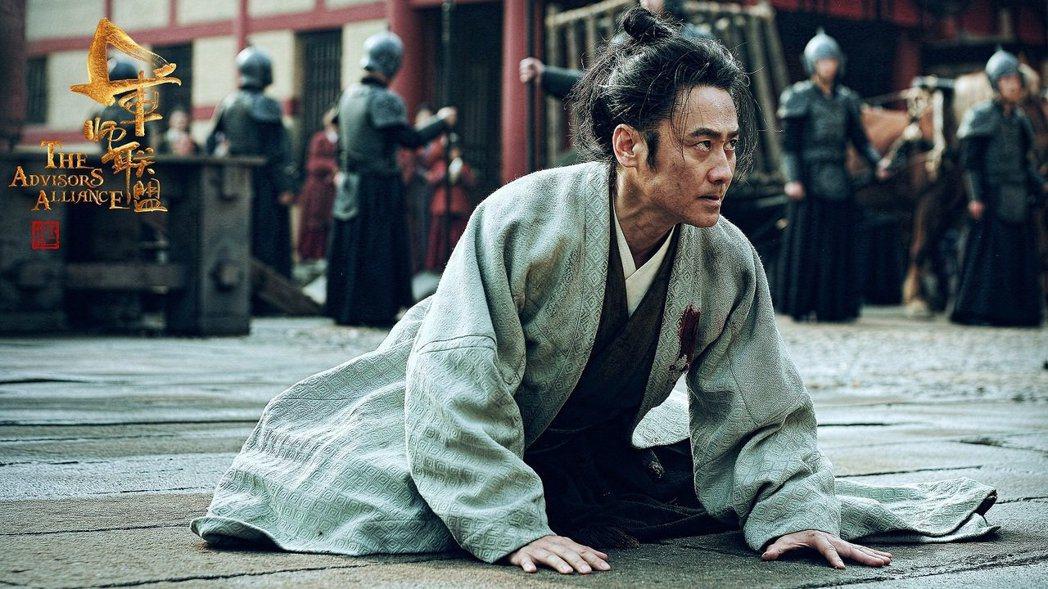 吳秀波主演的「軍師聯盟」在華人地區迴響熱烈。圖/中視提供