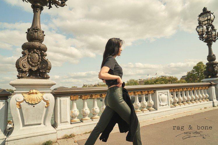 孫娜恩rag & bone DIY Project系列在巴黎取景。圖/rag &...