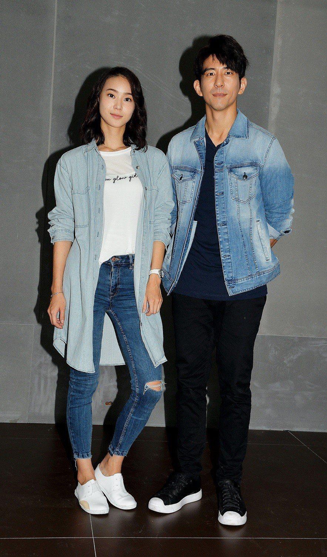 修杰楷(右起)、鍾瑶演出「浮士德遊戲2」。圖/衛視電影台提供