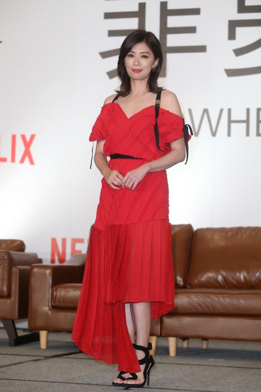 賈靜雯主演「罪夢者」。記者曾吉松/攝影