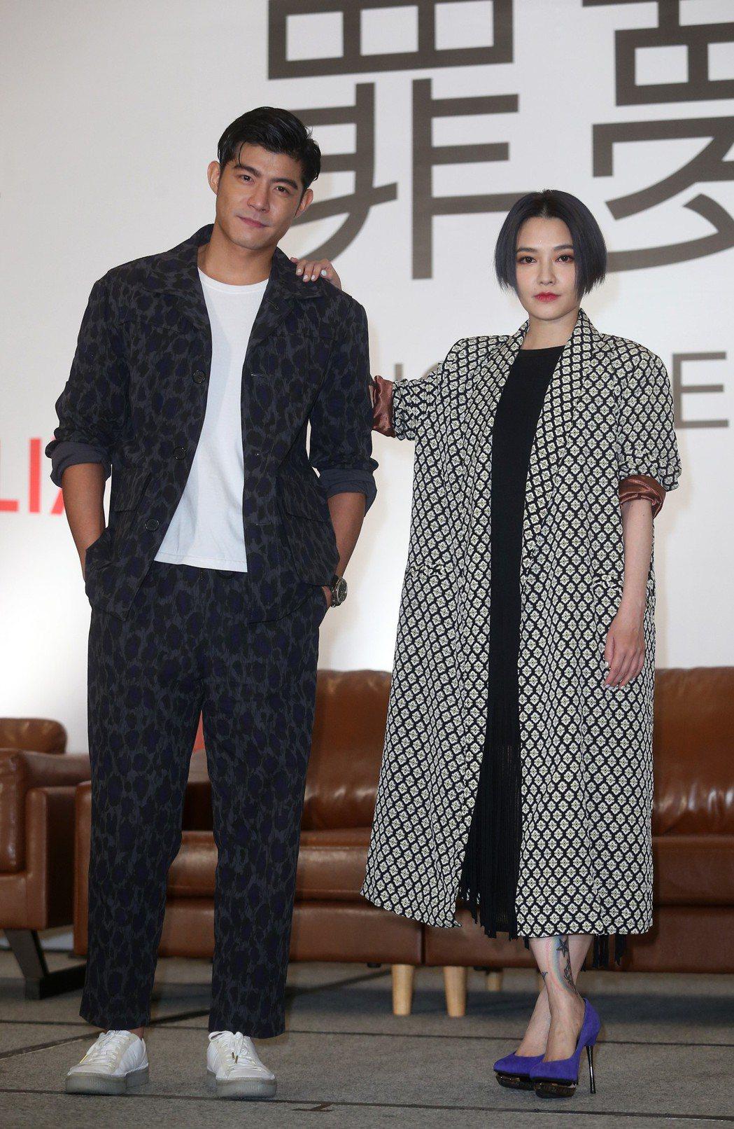 Netflix首部華語自製原創影集《罪夢者》范曉萱、王柏傑演出。記者曾吉松/攝影
