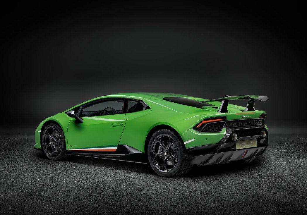 現行款Lamborghini Huracan Performante。 摘自La...