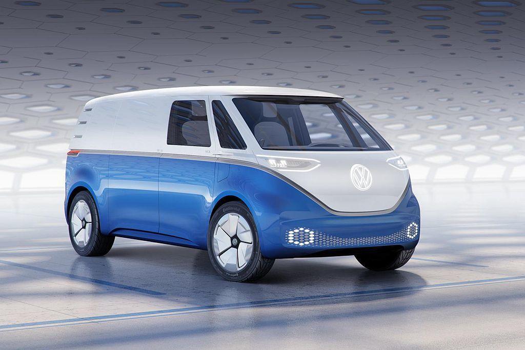 I.D BUZZ CARGO採福斯集團最新開發的MEB電動車專屬模組化平台,動力...