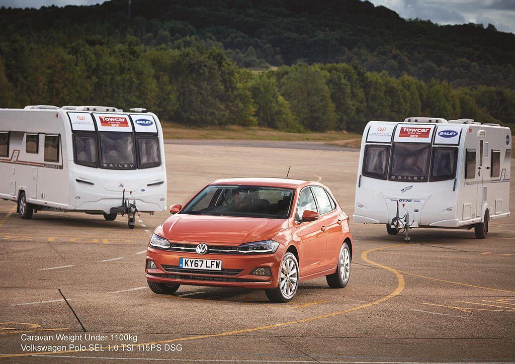 在歐洲市場熱賣的福斯Polo 1.0 TSI,為低於1,100kg級距的獲獎新車...