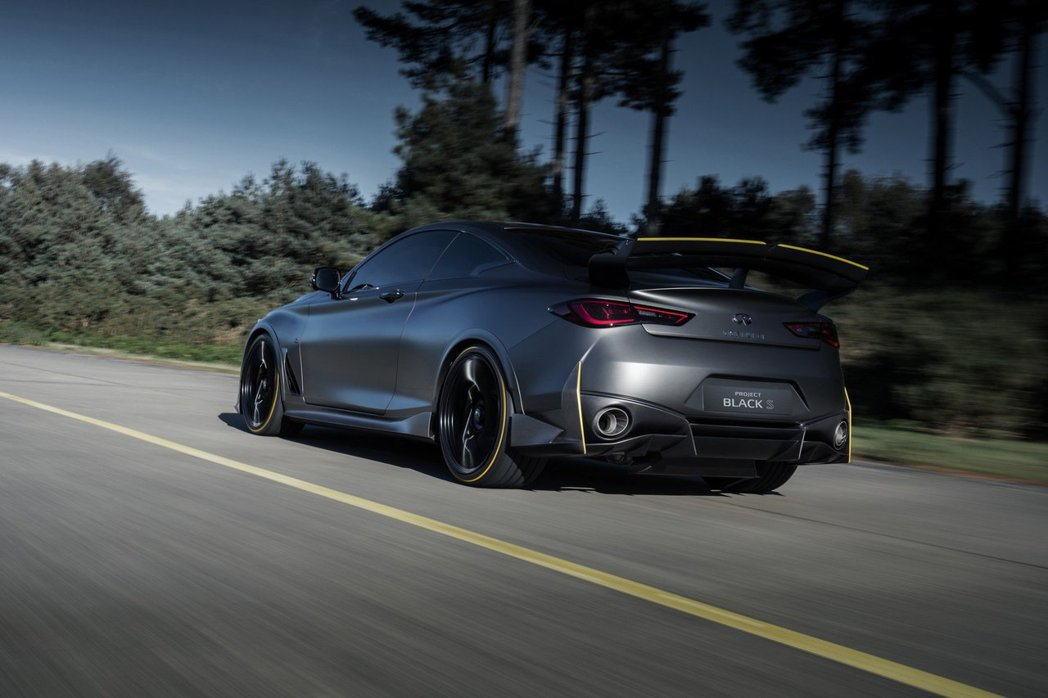 Q60 Project Black S是Infiniti與Renault Spo...