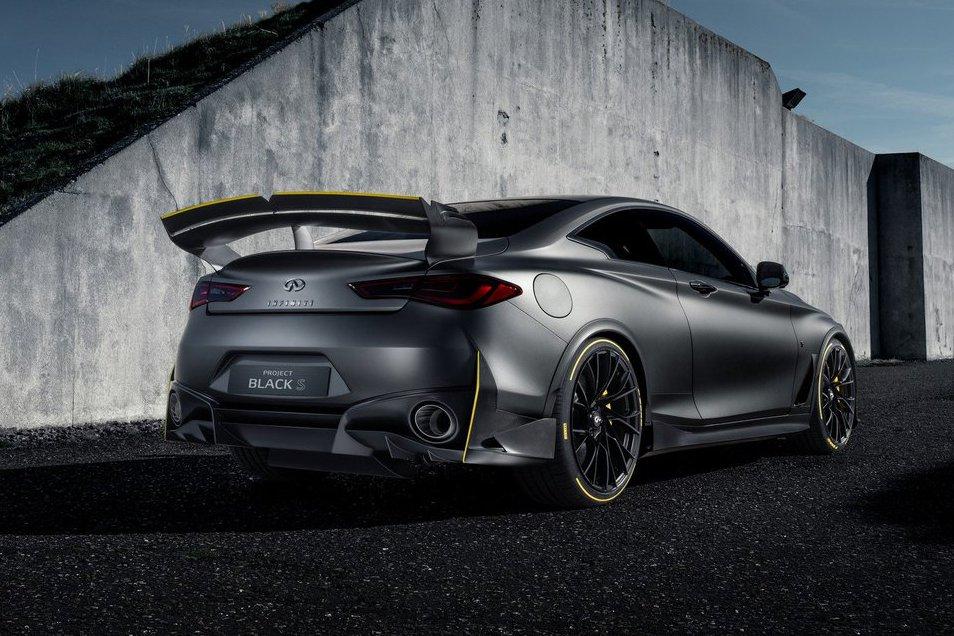 2018巴黎車展/Infiniti Q60 Project Black S帶著563匹F1技術登場