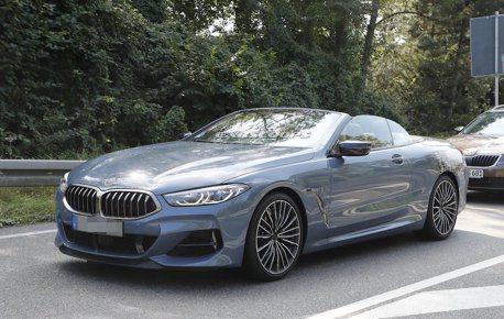 全新BMW 8-Series Convertible上空現蹤 優雅身形讓人目不轉睛