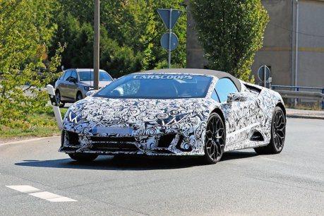 小改款Lamborghini Huracan現蹤 顯露Performante性能味