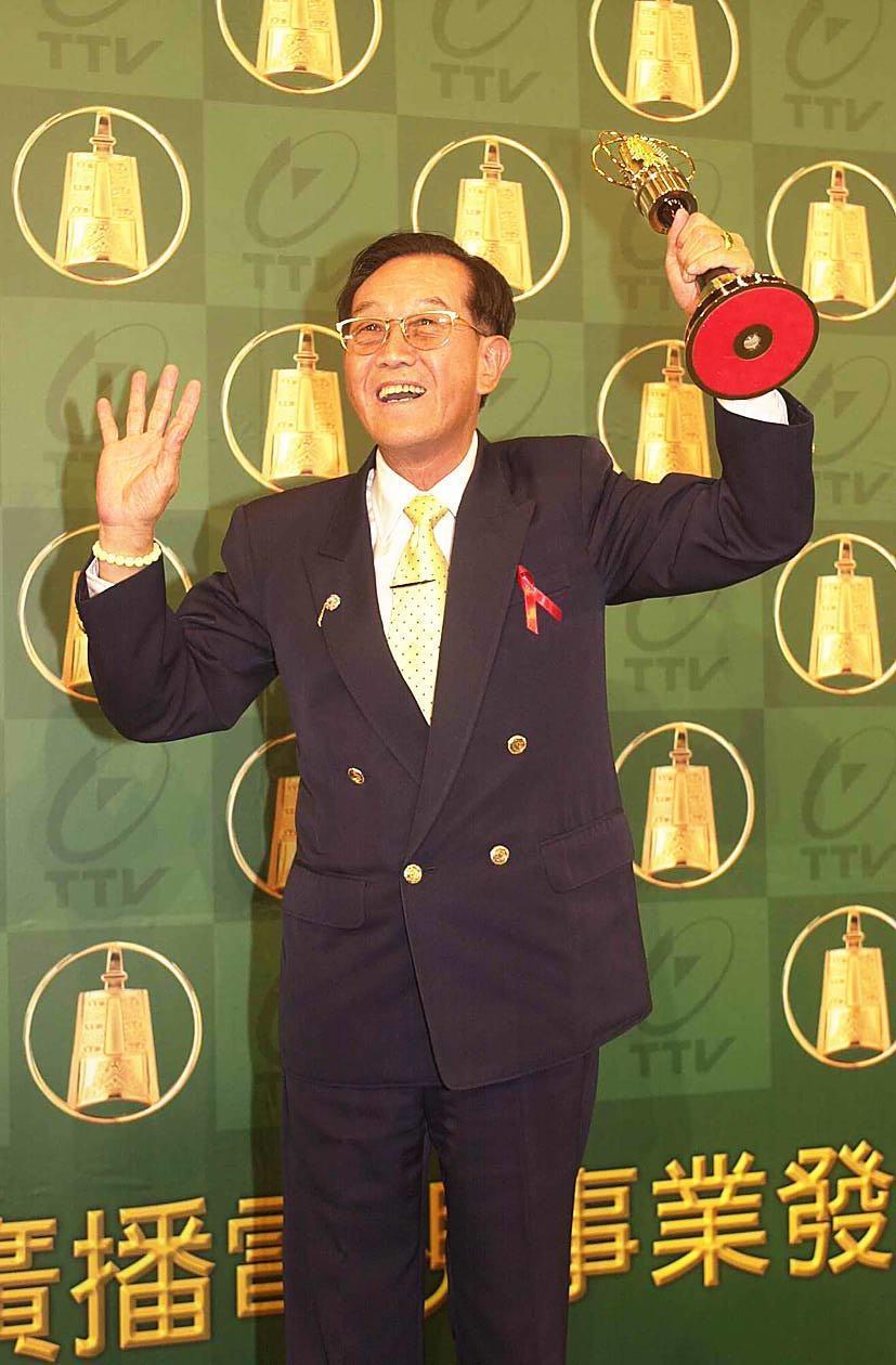 硬底子演員高振鵬2002年曾獲金鐘單元劇男配角獎。本報資料照片