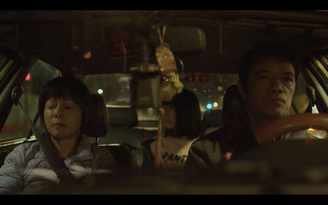 「第一響槍」戲中,何璦芸(左起)、葳爾森、吳朋奉。圖/公視提供