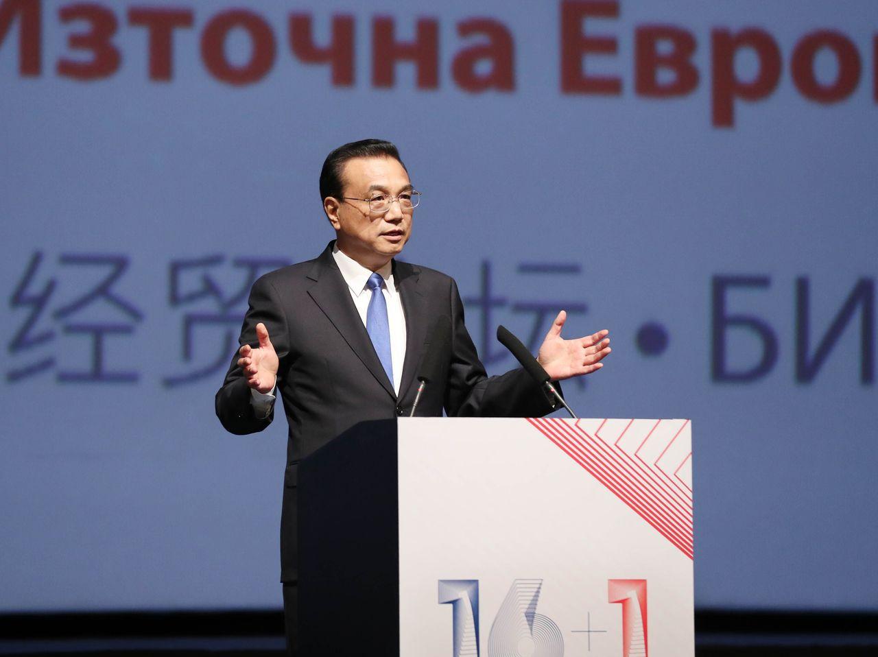 中國大陸國務院總理李克強。(新華社)